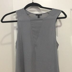 Express shirt with split sides